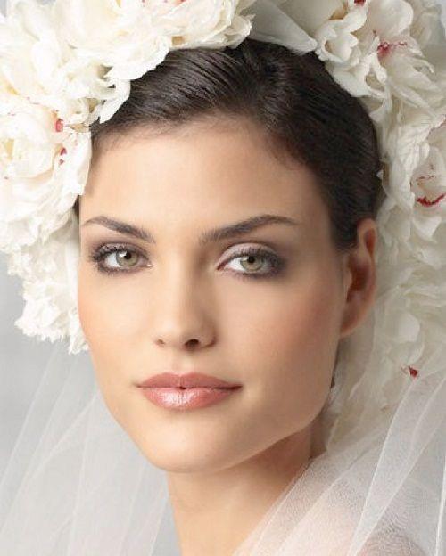 макияж для зеленоглазых брюнеток фото
