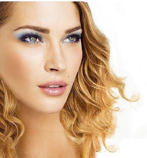 правильный макияж для зеленых глаз фото