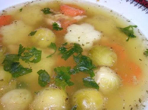 готовим суп с капустой фото