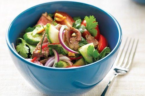 готовим тайский салат с мясом фото
