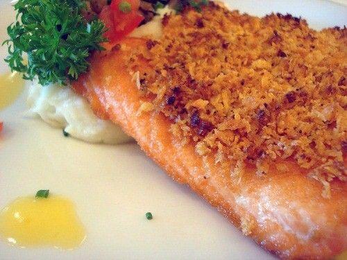 готовим стейк из лосося фото