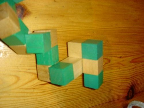 делаем кубик шаг 1 фото