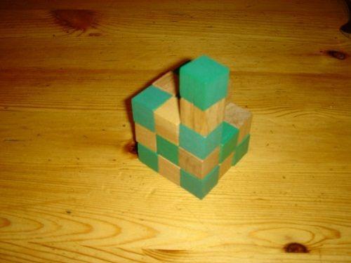 заканчиваем делать кубик фото