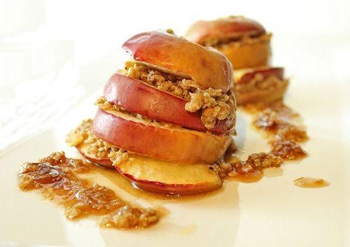 готовим печеные яблоки фото