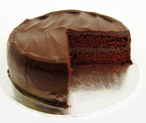 французский шоколадный торт фото