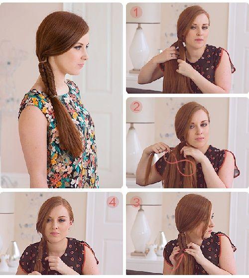 плетем бесконечную косу фото