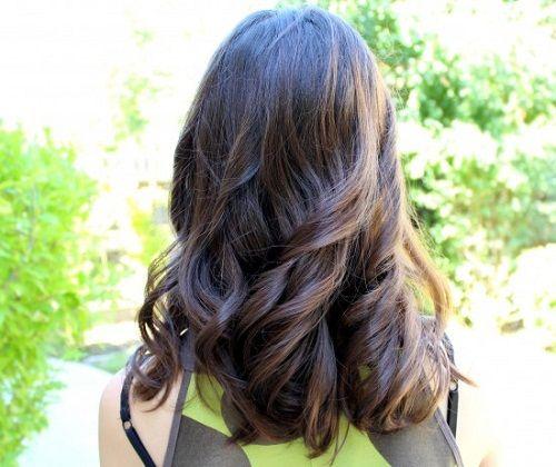 подкручиваем волосы фото