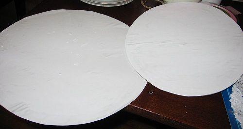 вырезаем белую бумагу фото