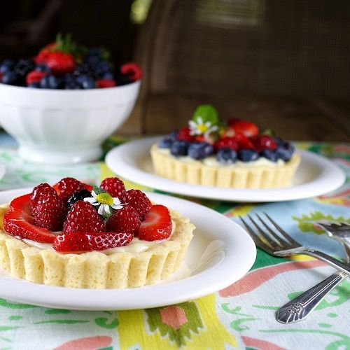 тарталетки с ягодами фото