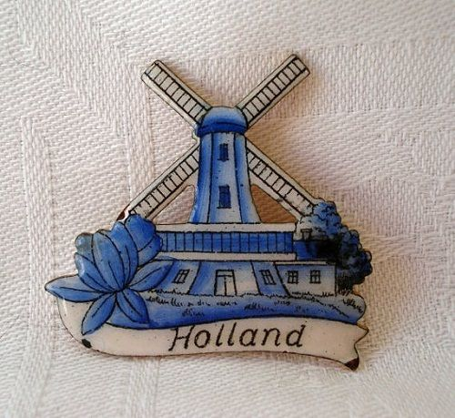 сувенир ветряные мельницы из Амстердама фото