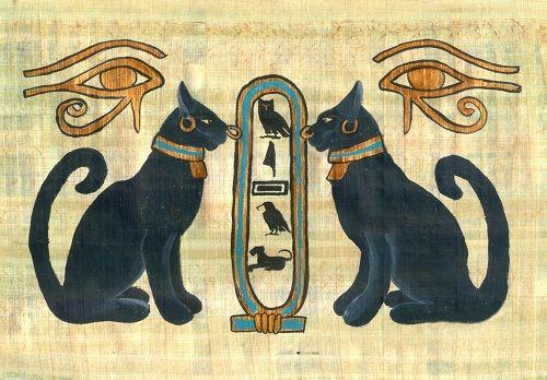 папирус из египта фото