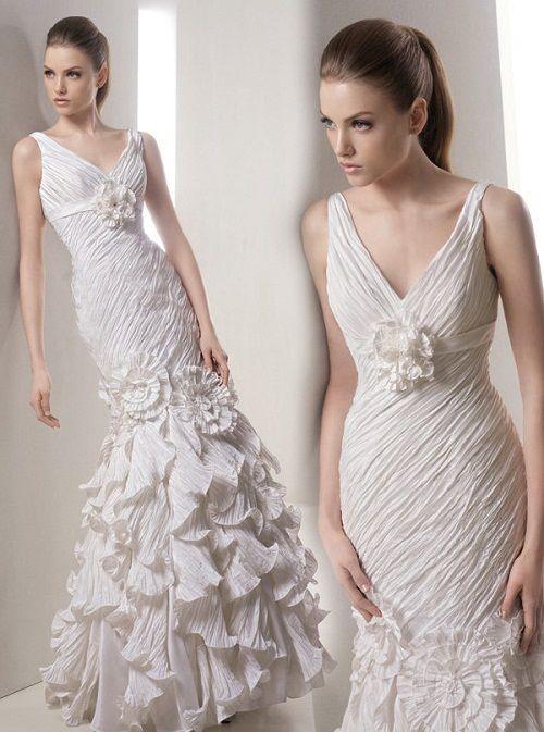 испанские свадебные платья фото