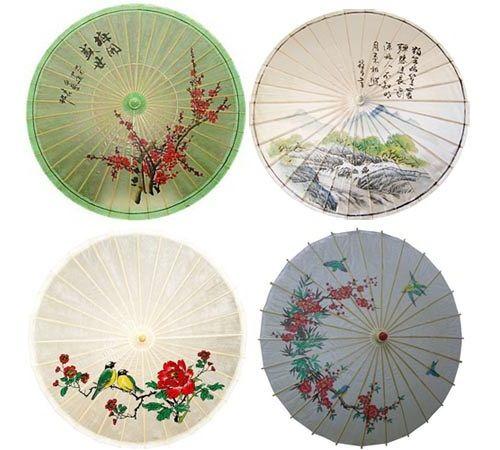 китайские зонтики фото