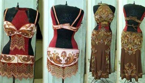 одежда из Марокко фото