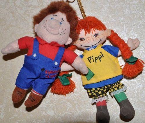 шведские куклы-сувениры фото