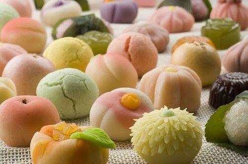 японские сладости фото