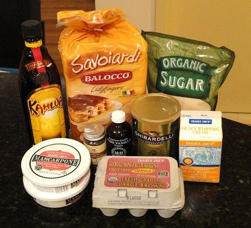 ингредиенты для тирамису фото