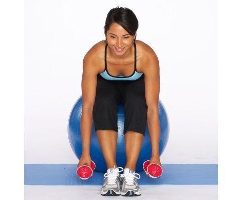 упражнение подъем гантелей в наклоне фото