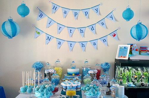 день рождения в морском стиле фото