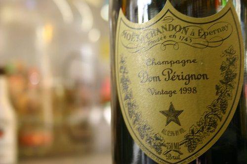 шампанское Дом Периньон фото