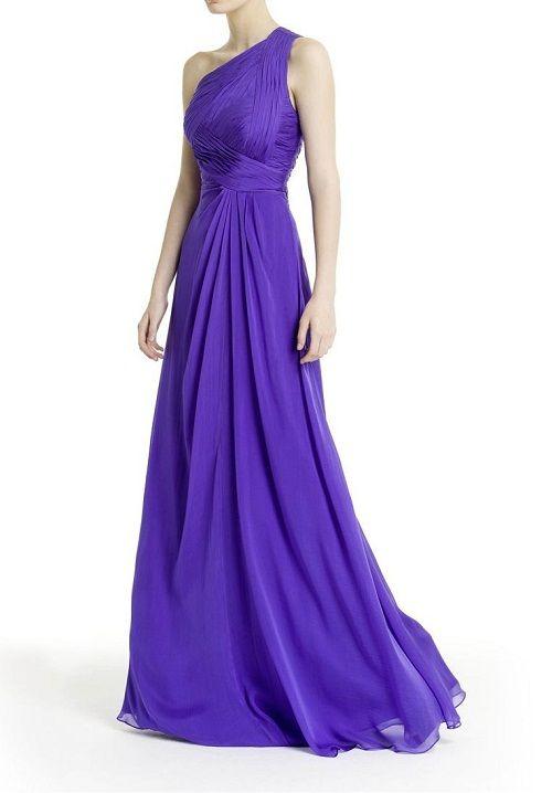 яркое шифоновое платье фото