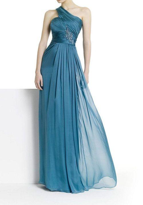 платье из шифона в греческом стиле фото