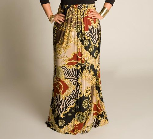 юбка яркой расцветки фото