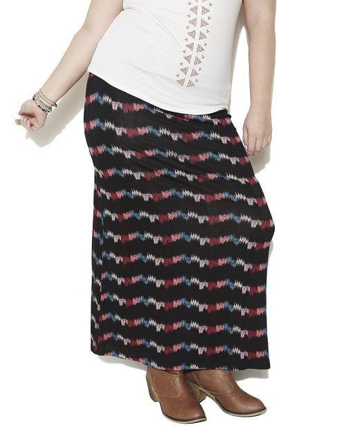 юбка с ярким принтом фото