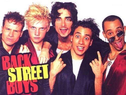 плакат с Backstreet Boys фото