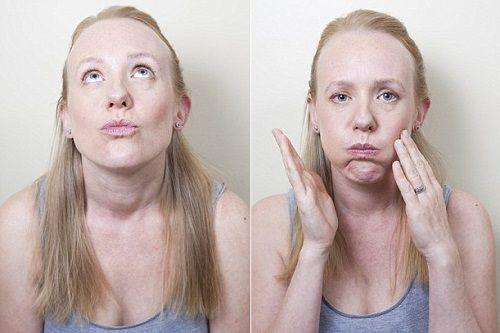упражнение для нижней части лица фото