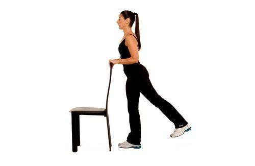упражнение на махи ногами фото