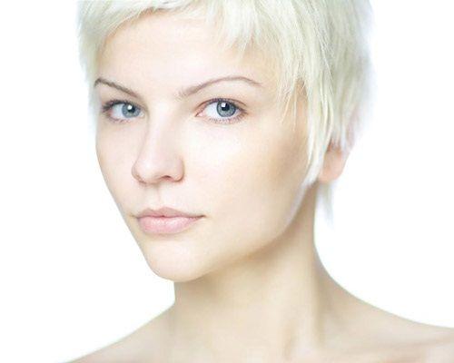стрижка для светлых волос фото