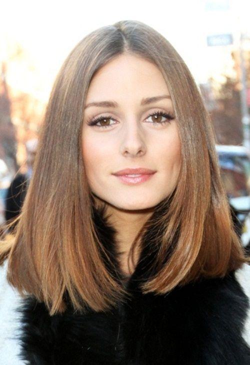 стрижка для средних ровных волос фотострижка для средних ровных волос фото
