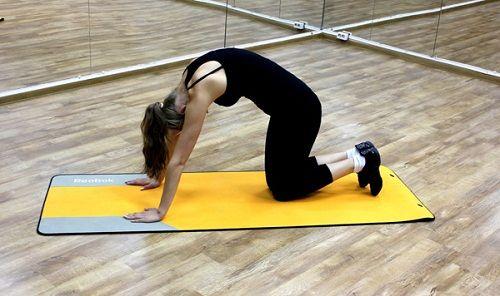 упражнение на выгибание спины фото