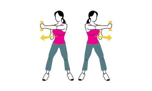 перекрестное упражнение фото