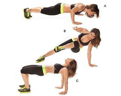упражнения для рук и бедер фото