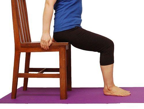 упражнение на стуле для осанки фото