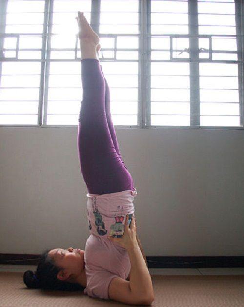 упражнение свечка фото