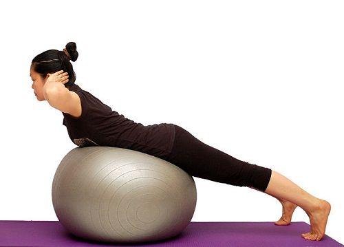 упражнения на мяче фото