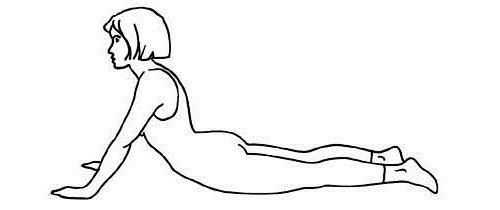 усиленное растяжение мышц спины фото