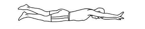 подъем руки и ноги фото