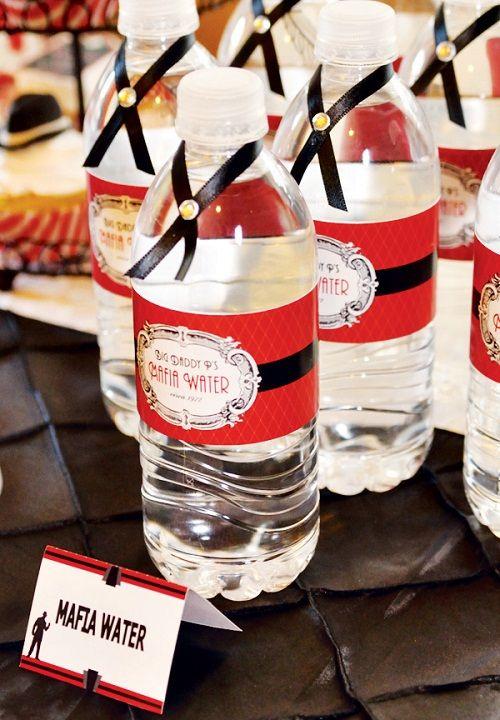 вода для вечеринки фото