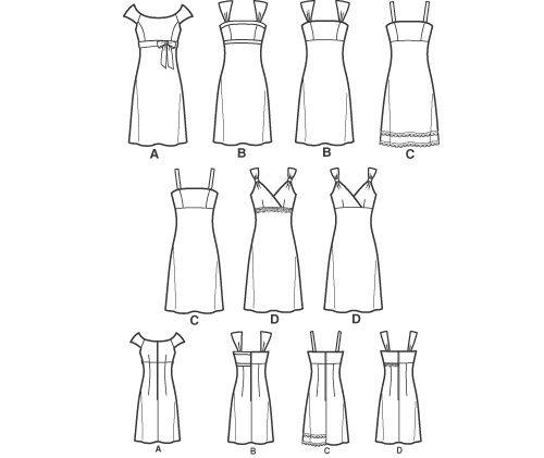 выкройки разных фасонов платьев с завышенной талией фото