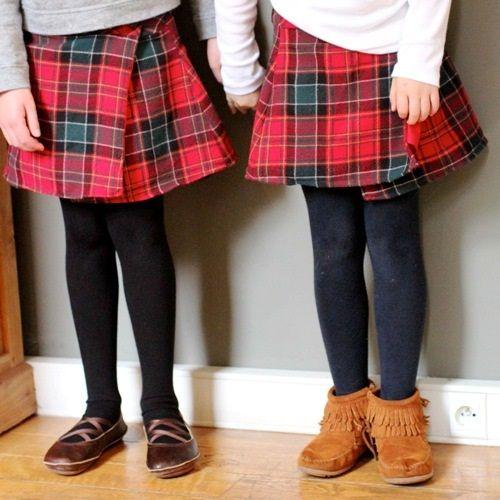 детская юбка с запахом фото