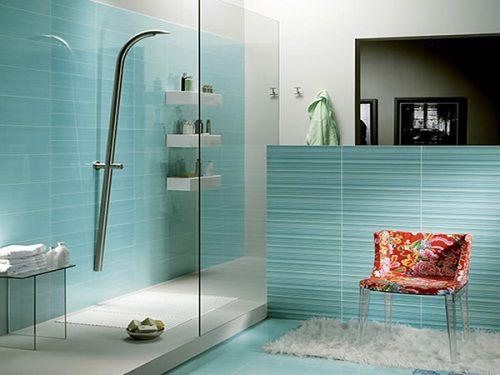 ванная в бирюзовом фото