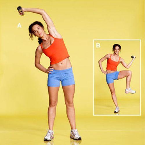 упражнения для косых мышц живота фото