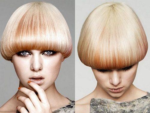 Новый тренд: короткий боб и рыжий цвет волос