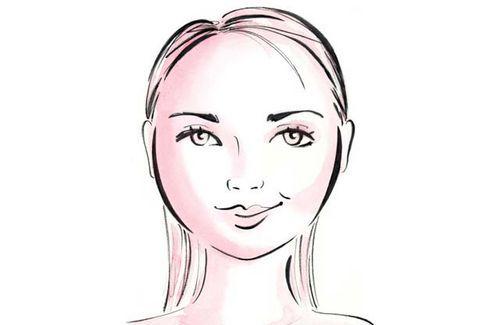 круглое лицо фото