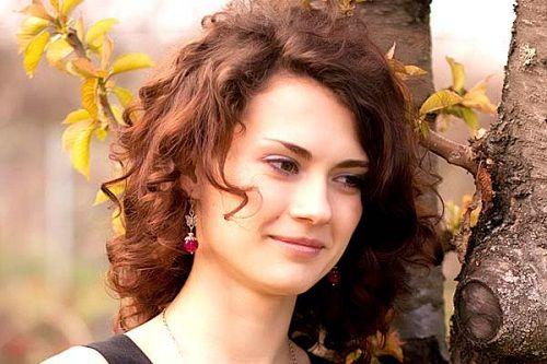 длинные кудрявые волосы фото