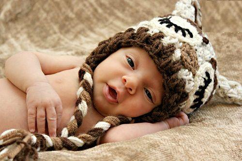 теплая шапочка с ушками фото
